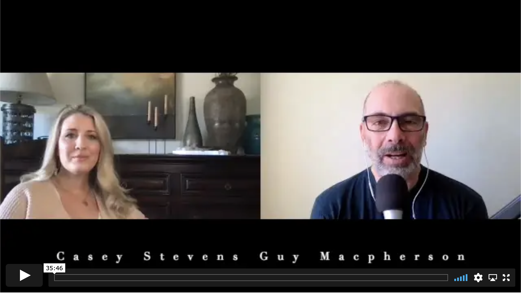 Casey Stevens Podcast Interview